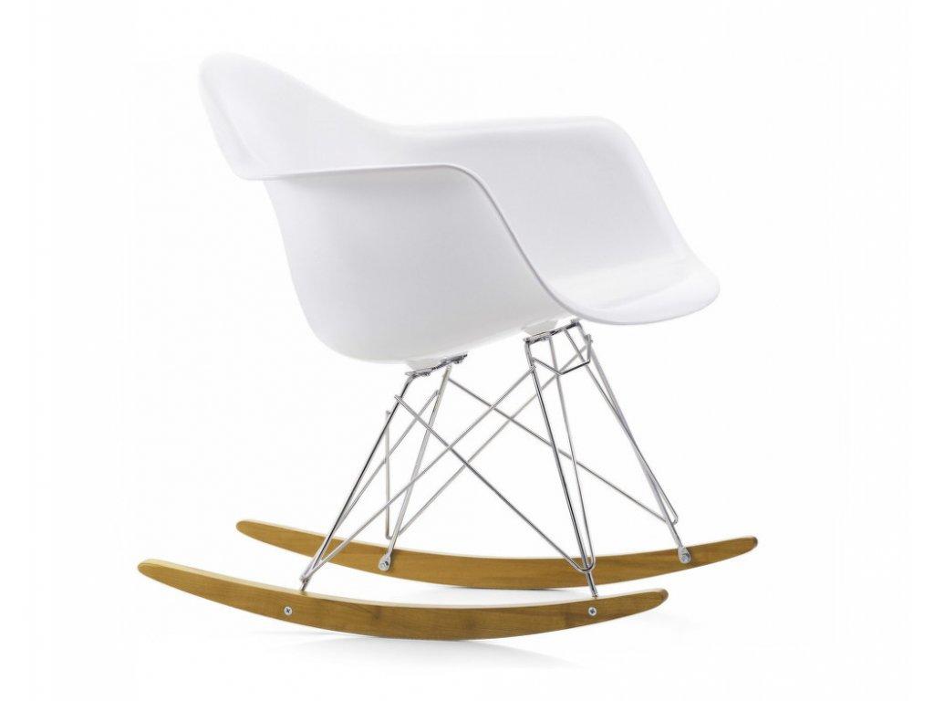 Houpací křeslo Eames Chair RAR, golden maple