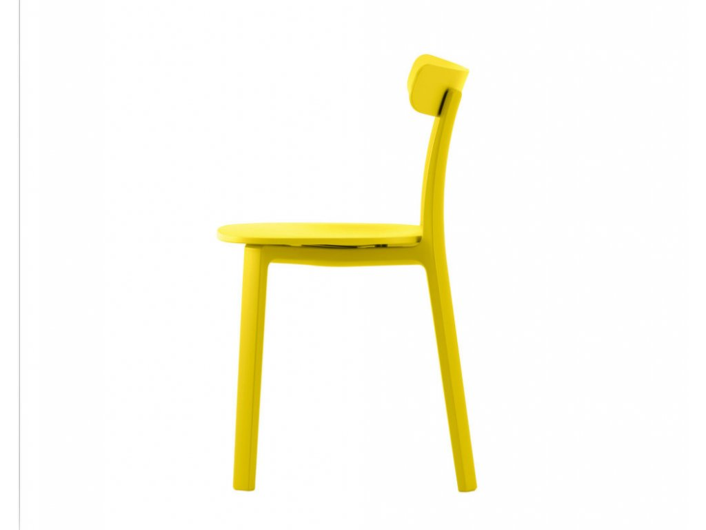 Židle All Plastic Chair, buttercup