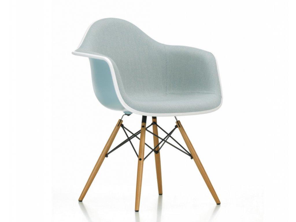 Židle Eames DAW, celopolstrovaná