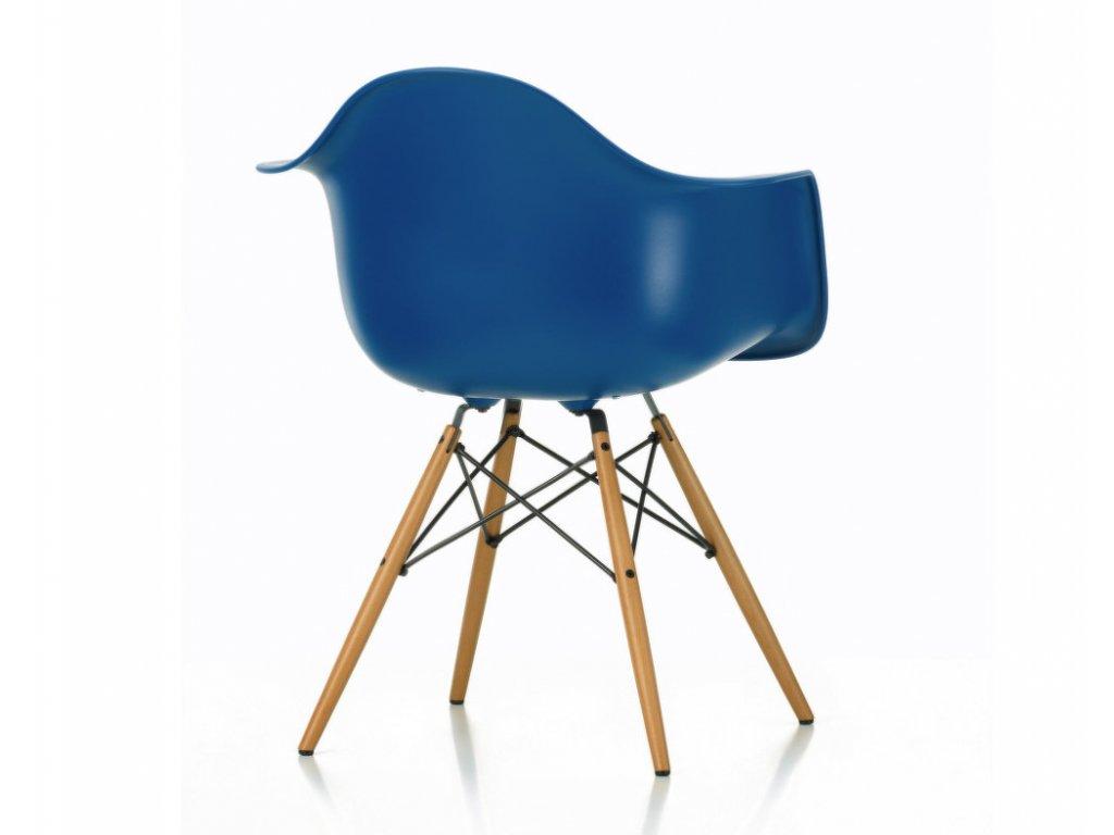 Židle Eames DAW, polstrovaný sedák
