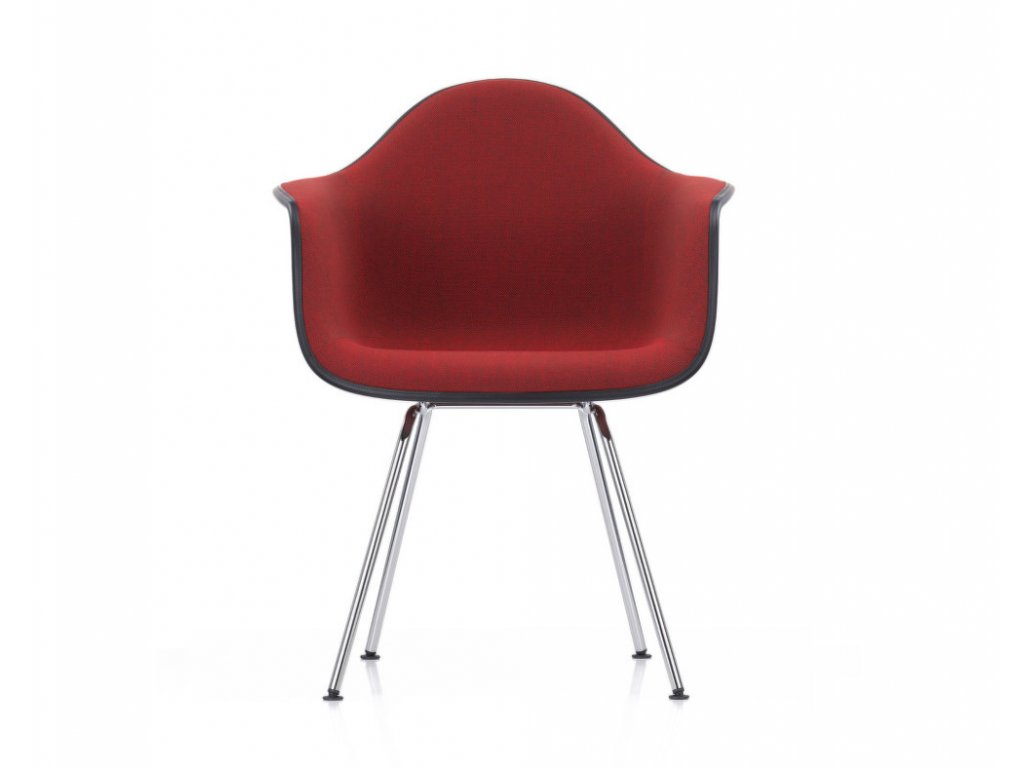 Židle Eames DAX, celopolstrovaná