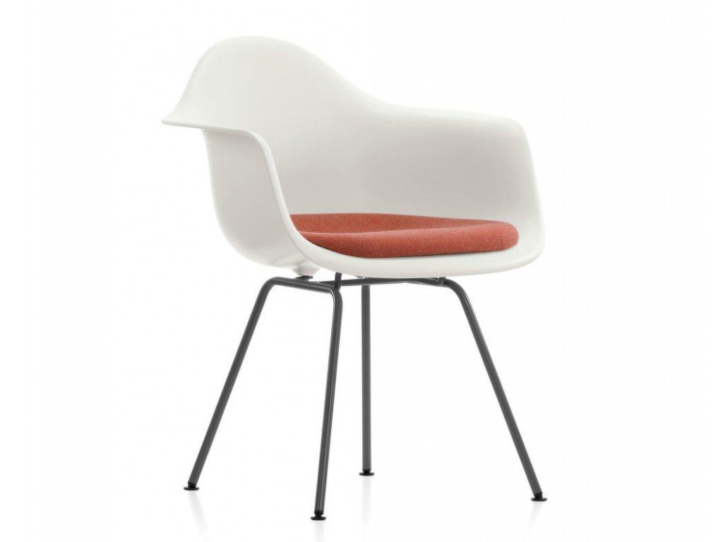 Židle Eames DAX, polstrovaný sedák