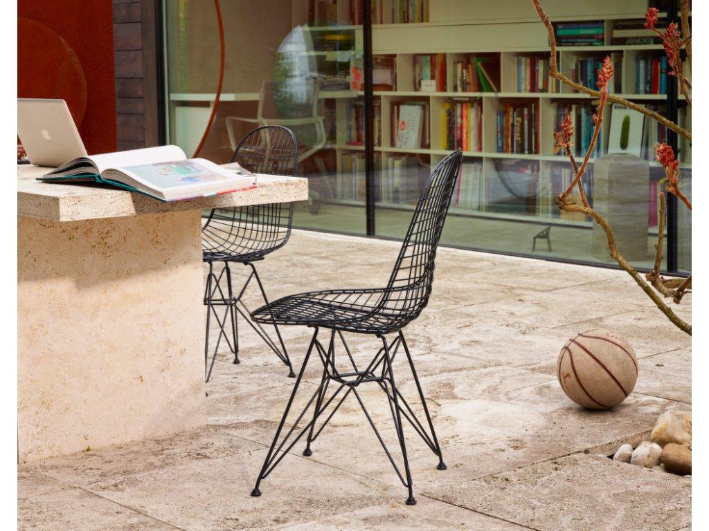 Židle Eames DKR, basic dark
