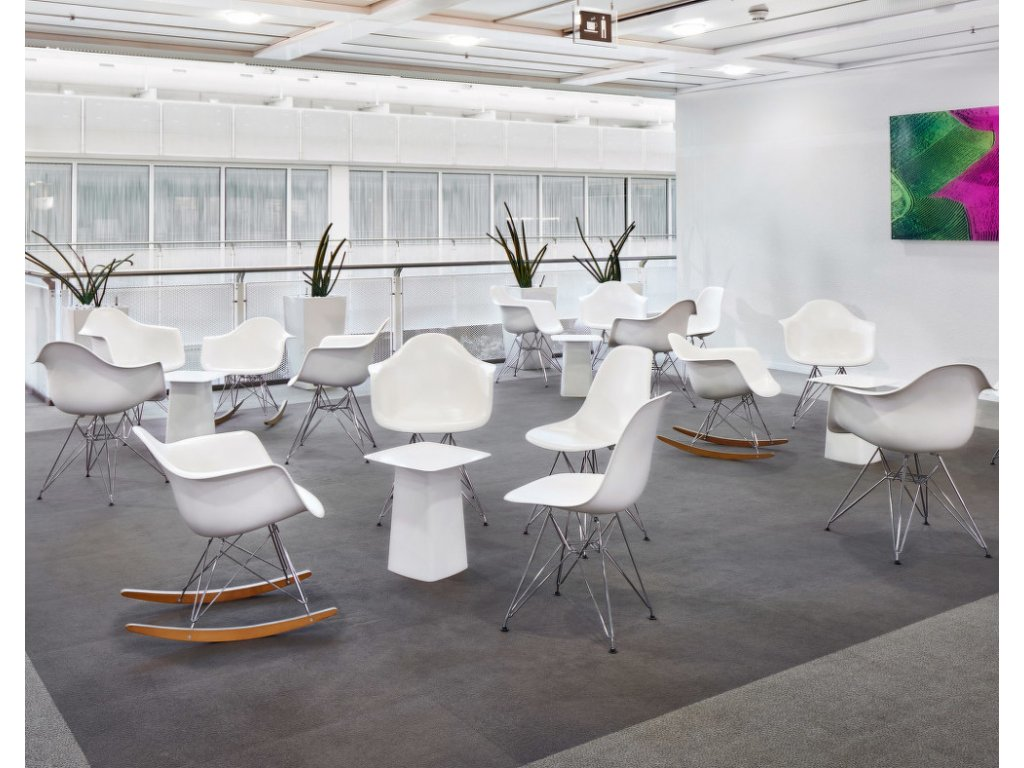Židle Eames DSR, cream