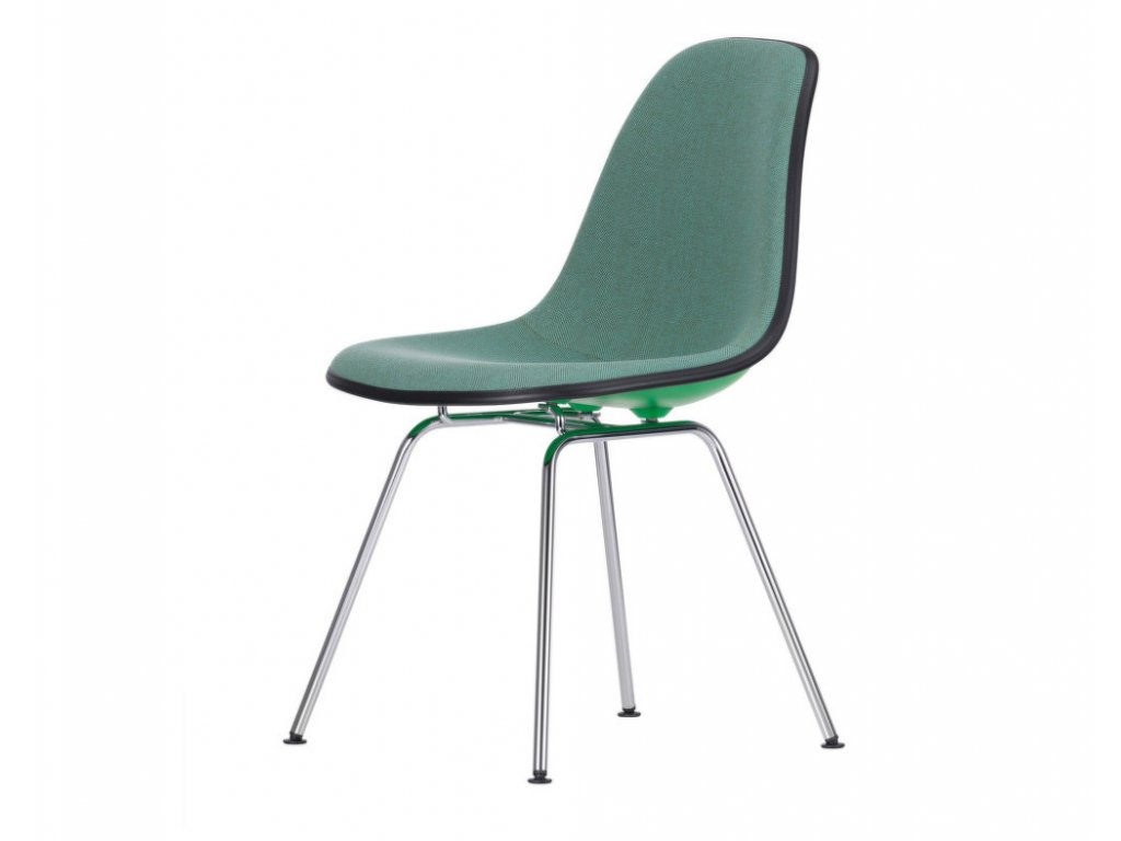 Židle Eames DSX, celopolstrovaná