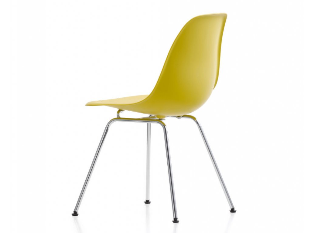 Židle Eames DSX, mustard