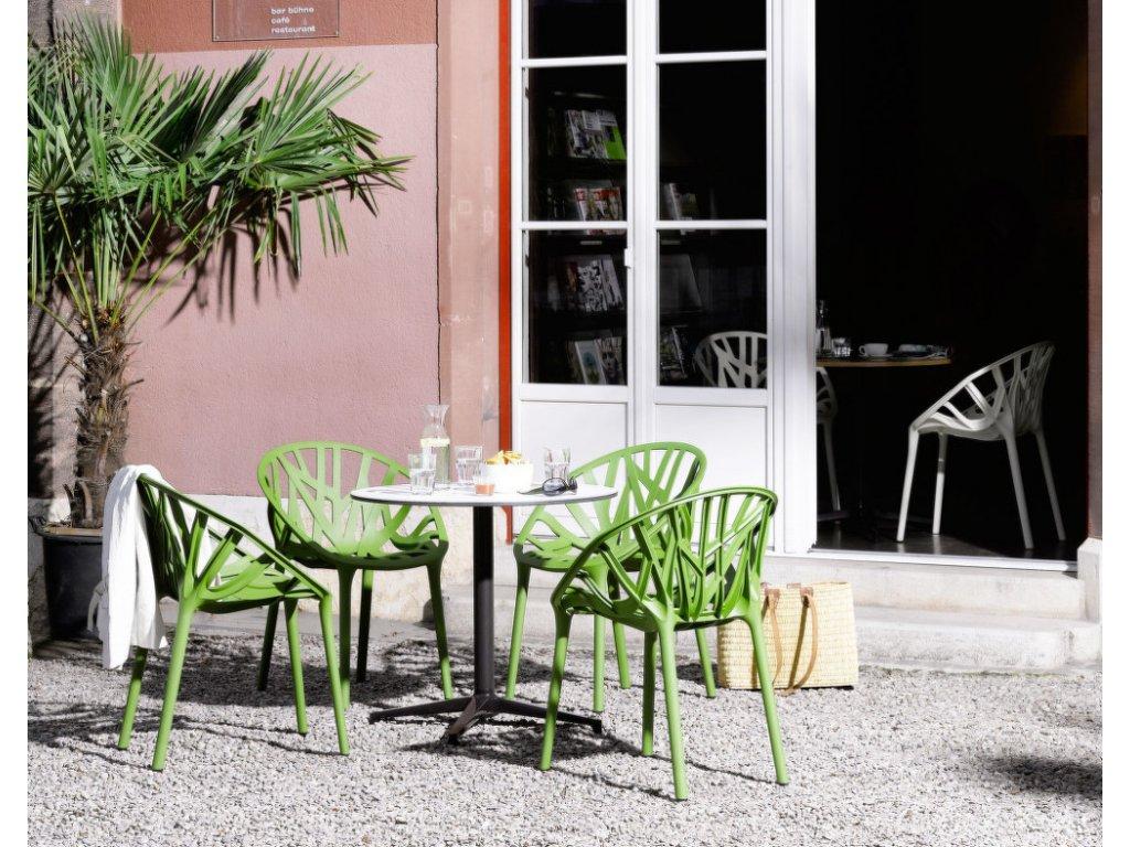 Židle Vegetal, brick