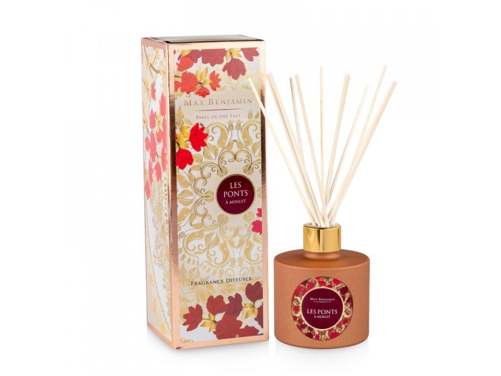 Interiérový parfém Les Ponts a Minuit, 150 ml - difuzér