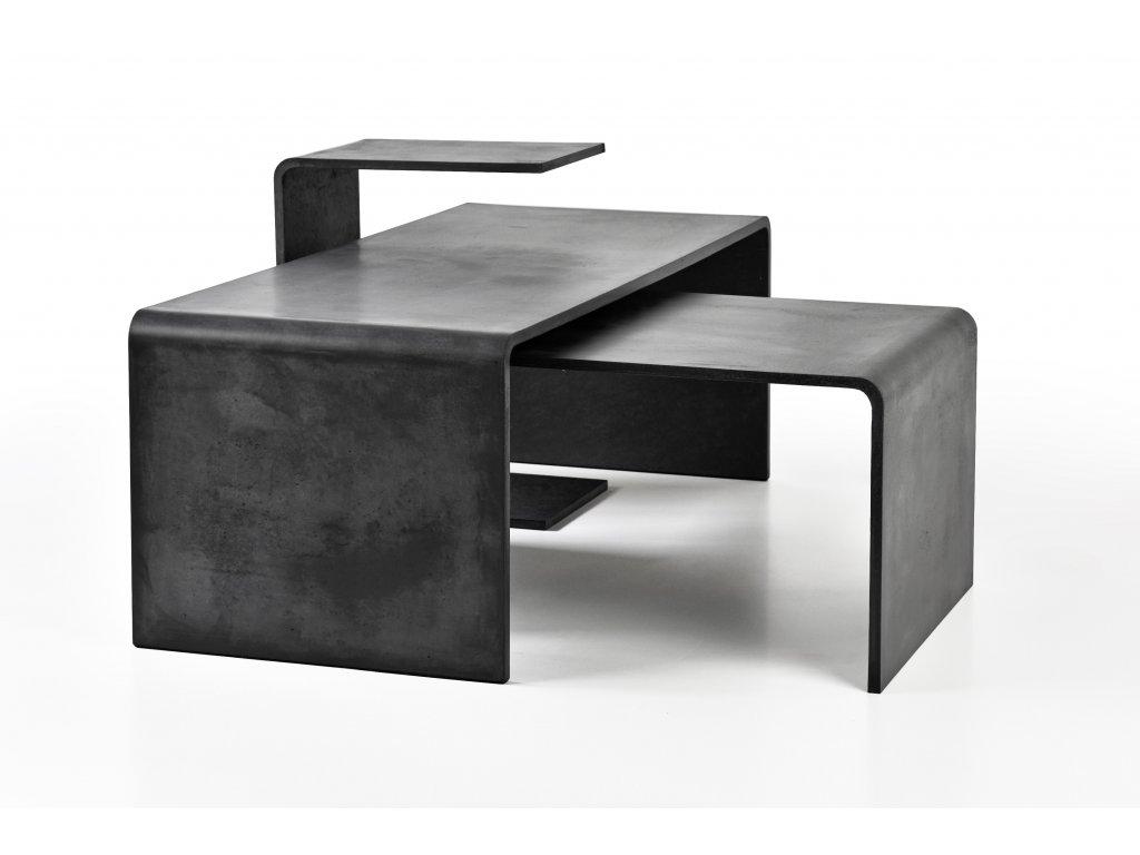 Betonový konferenční stolek TRIO TABLE