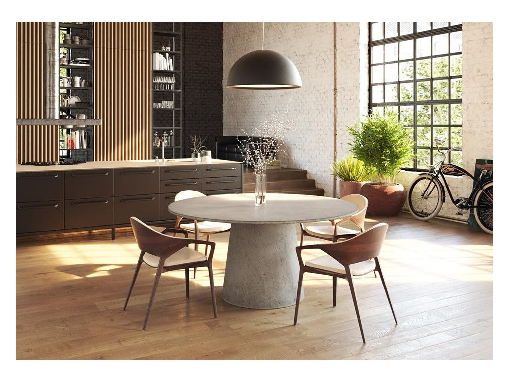 Betonový jídelní stůl MOUNT