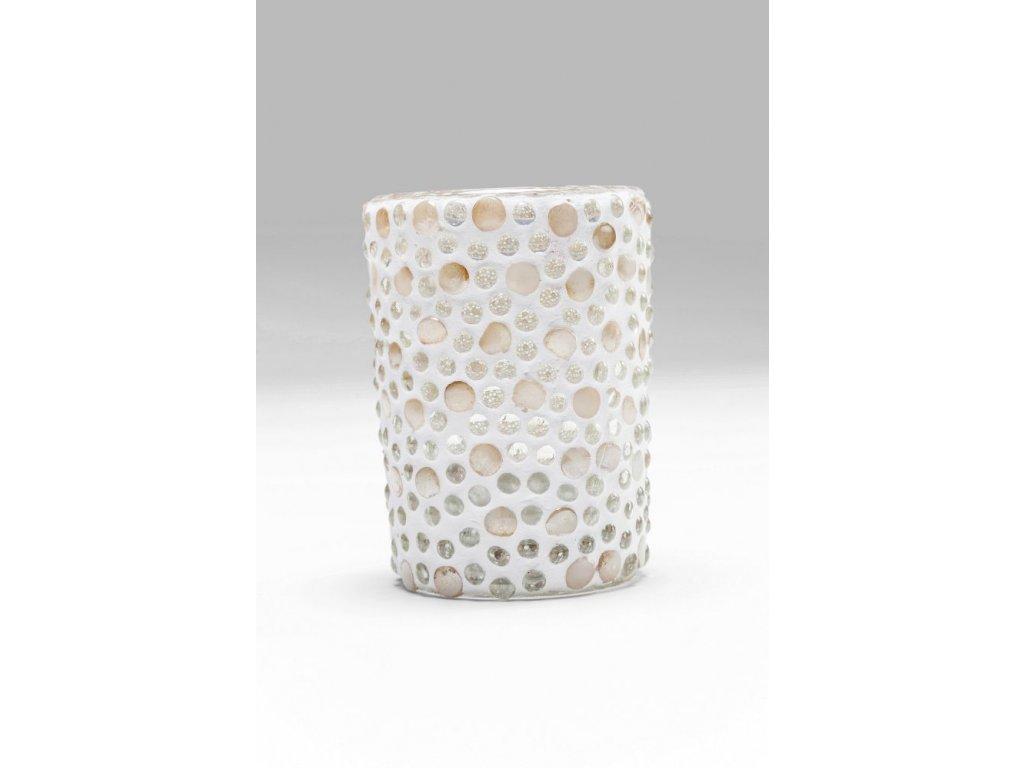 Svícen na čajovou svíčku Pearls - malý