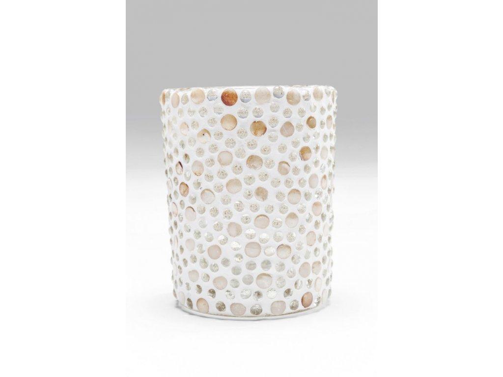 Svícen na čajovou svíčku Pearls - velký