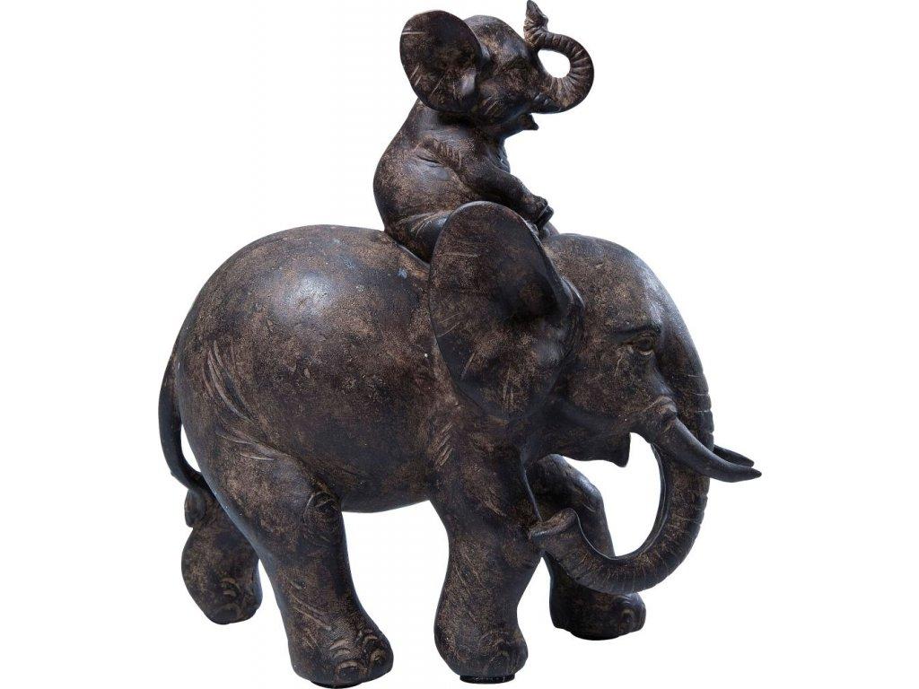 Dekorativní figurka Sloni
