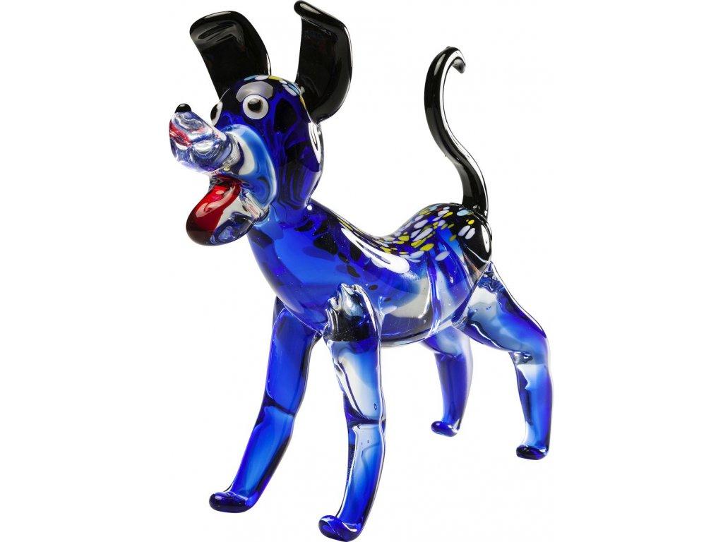 Dekorativní figurka Modrý pes