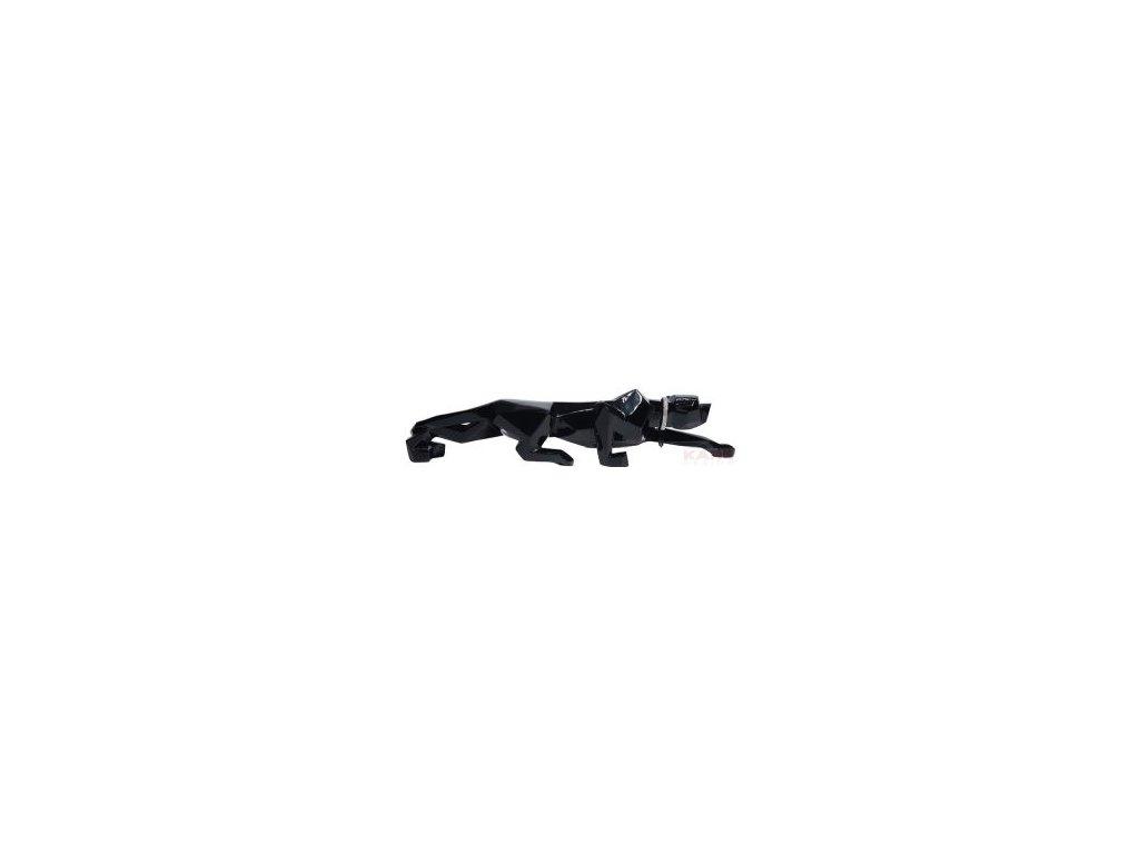 Dekorativní figurka Kočka, černá 90