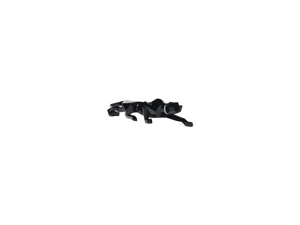 Dekorativní figurka Kočka, černá 185