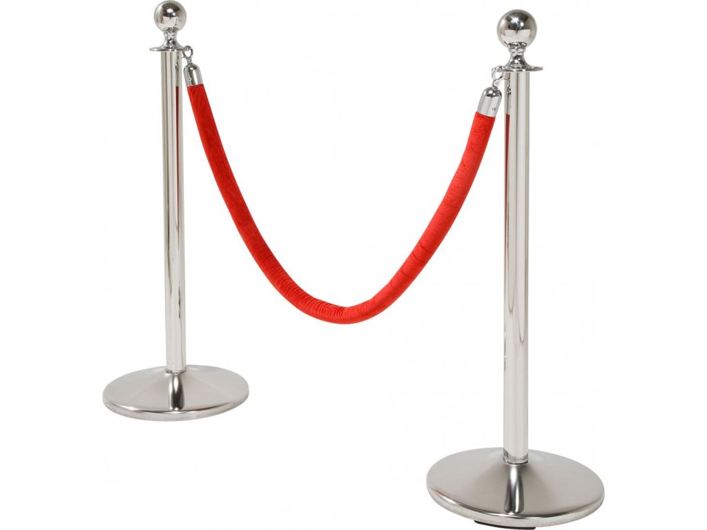 VIP stojan Vegas 1 ks, stříbrný