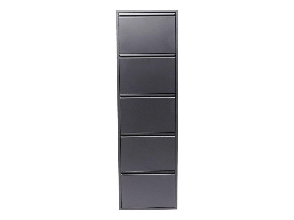 Botník Caruso 5, šedý