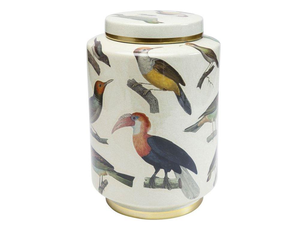 Dekorativní sklenice Birds 33 cm