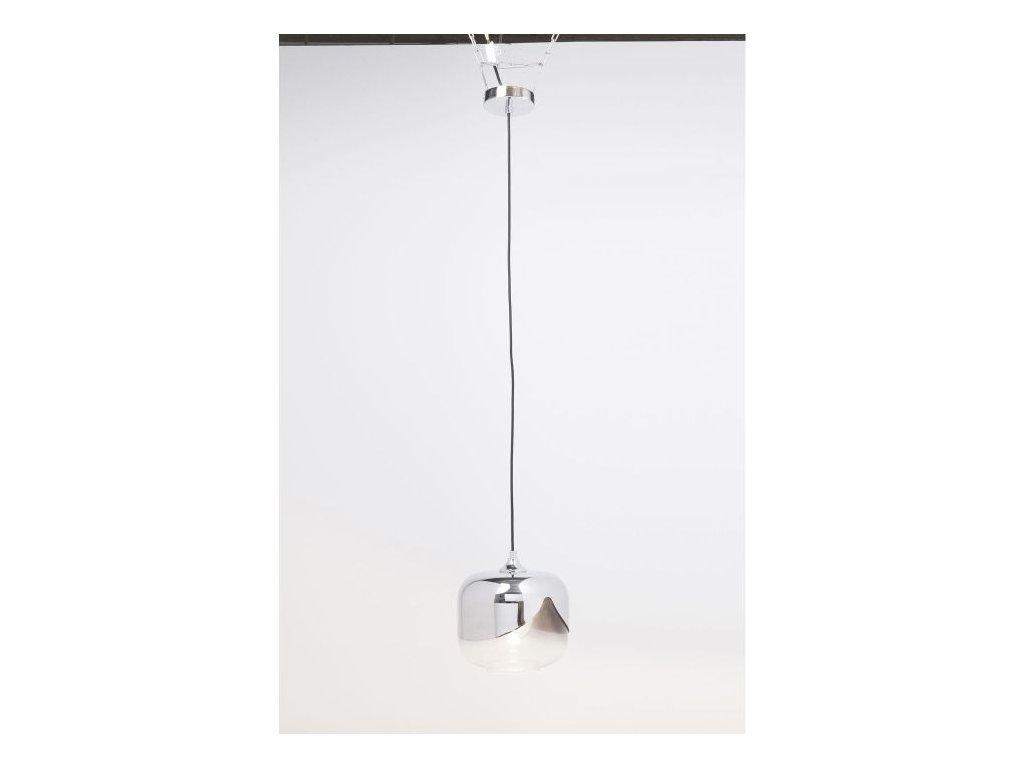 Závěsné svítidlo Goblet O 25 cm, chrom