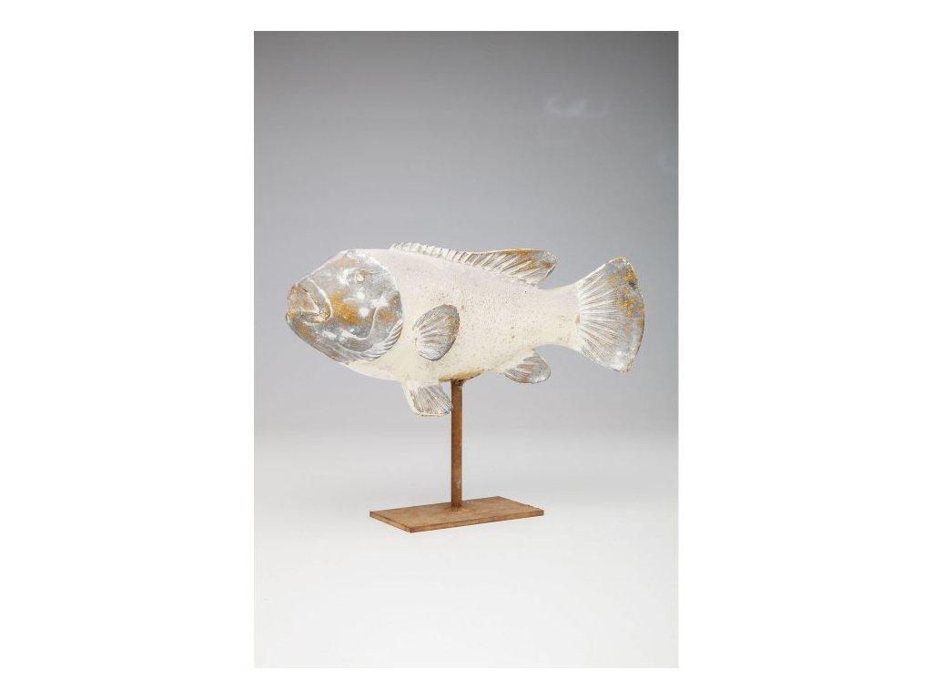 Dekorativní předmět Pesce 33 cm - přírodní