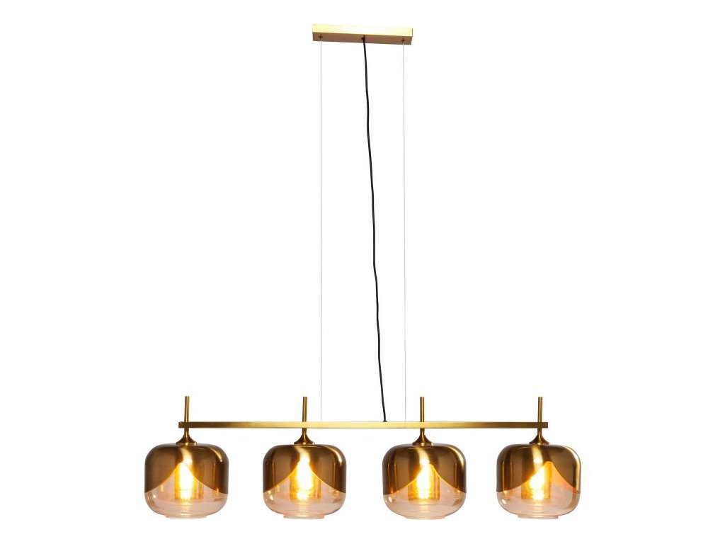 Závěsné svítidlo Goblet Quattro O 25 cm, zlaté