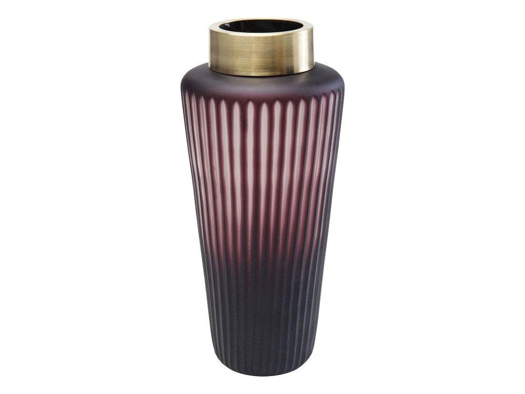 Váza Romeo 29 cm, fialová