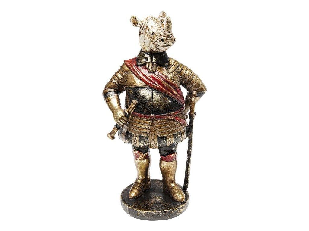 Dekorativní předmět Sir Nosorožec 22 cm