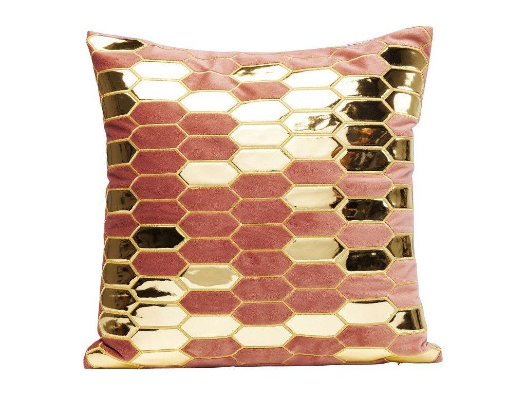 Dekorativní polštář Honeycomb De Luxe 45×45 cm