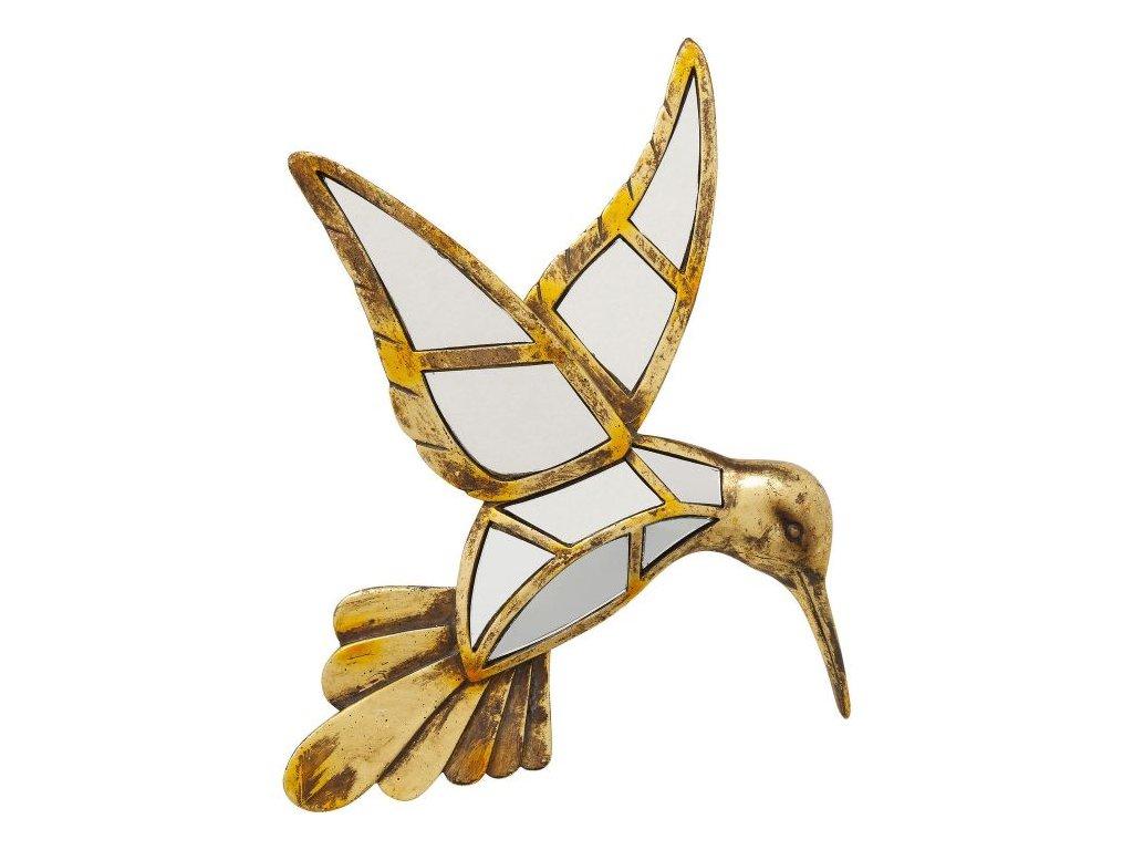 Dekorace na zeď Kolibřík Zrcadlo