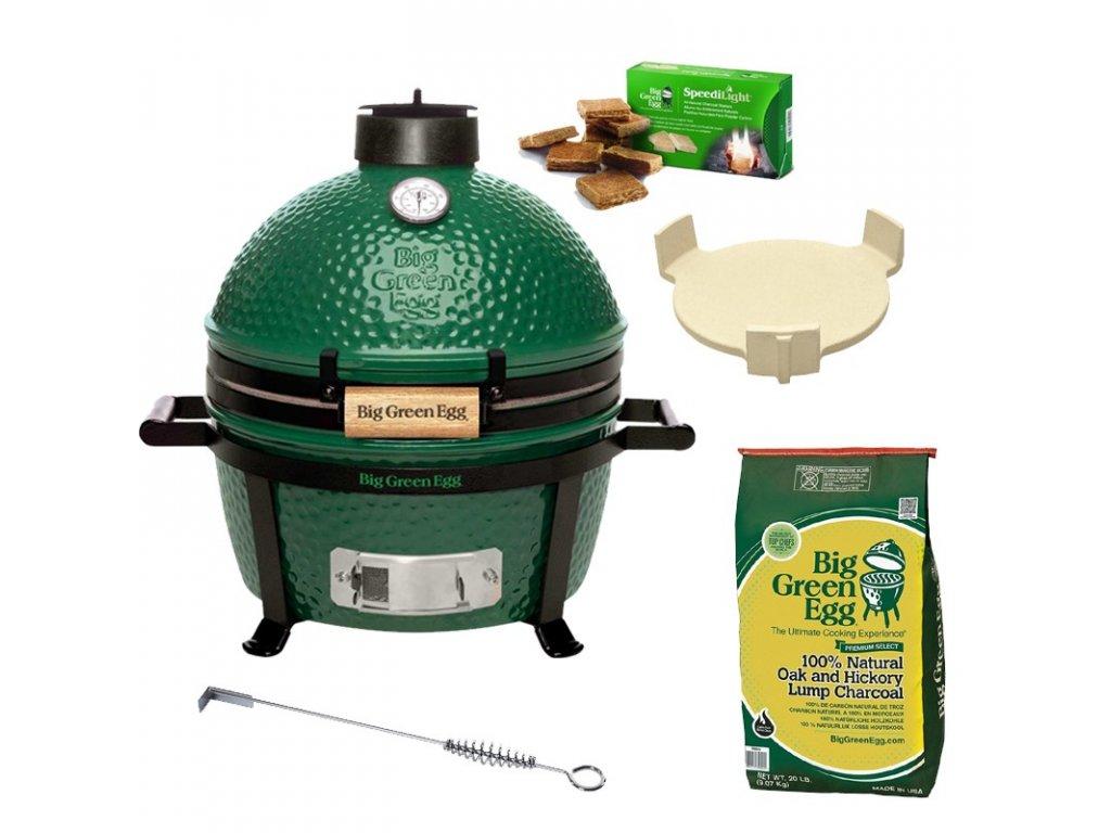 Gril Big Green Egg MiniMax - balíček Easy Start