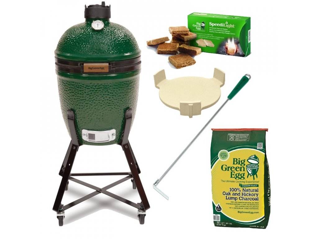 Gril Big Green Egg Medium - balíček Easy Start