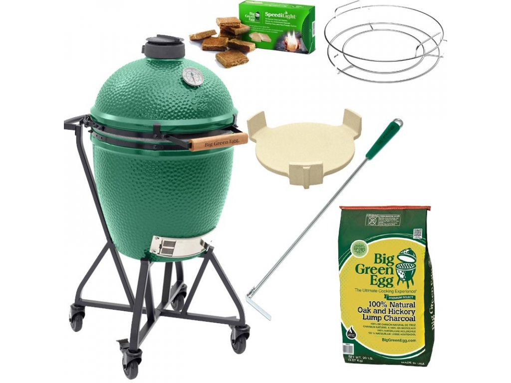 Gril Big Green Egg Large - balíček Easy Start