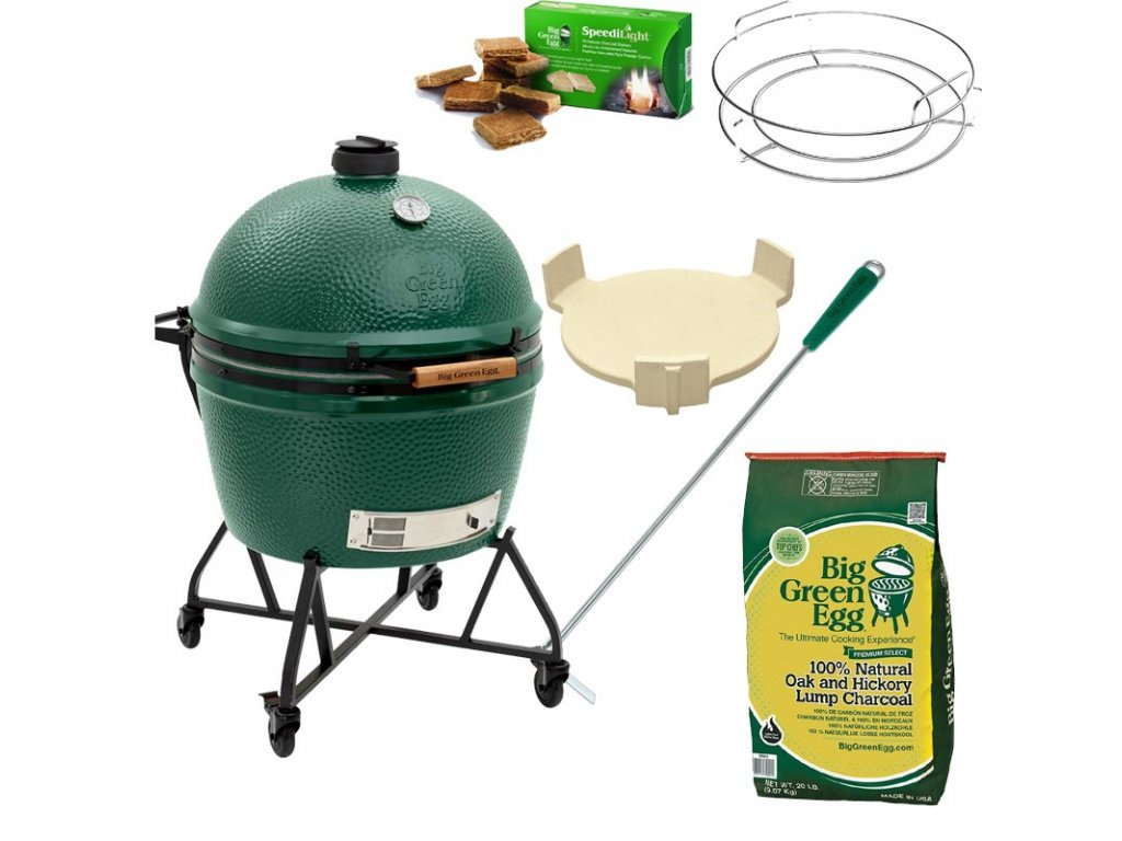Gril Big Green Egg XLarge - balíček Easy Start