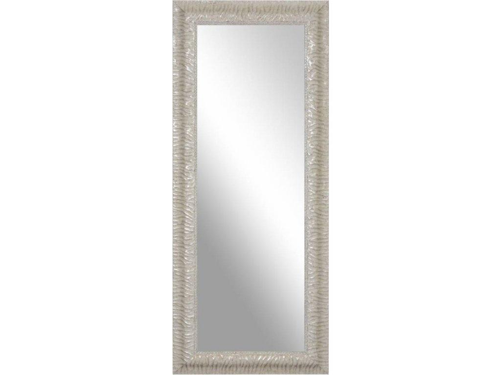 Zrcadlo Spiegel s bílým rámem, 60x180 cm