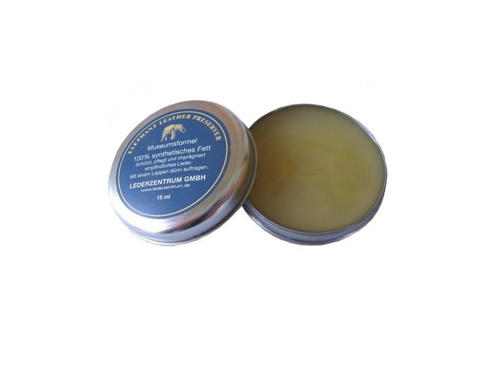 Víceúčelový ochranný vosk na kůži Elephant Leather Preserver