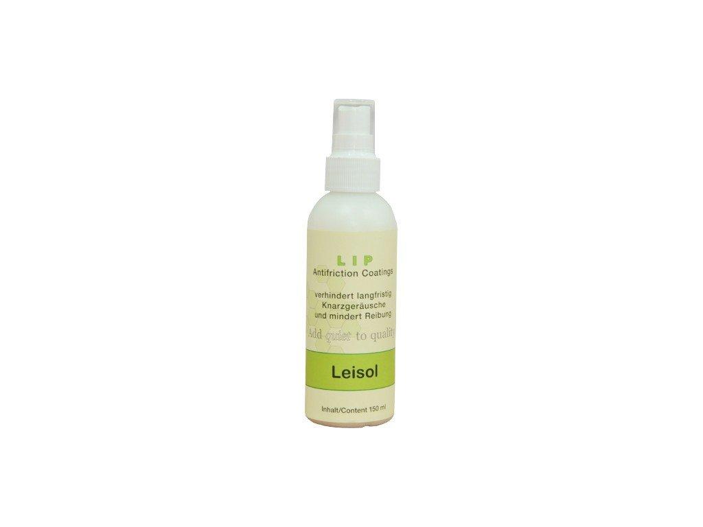Přípravek k odstranění nepříjemných zvuků kůže Leisol