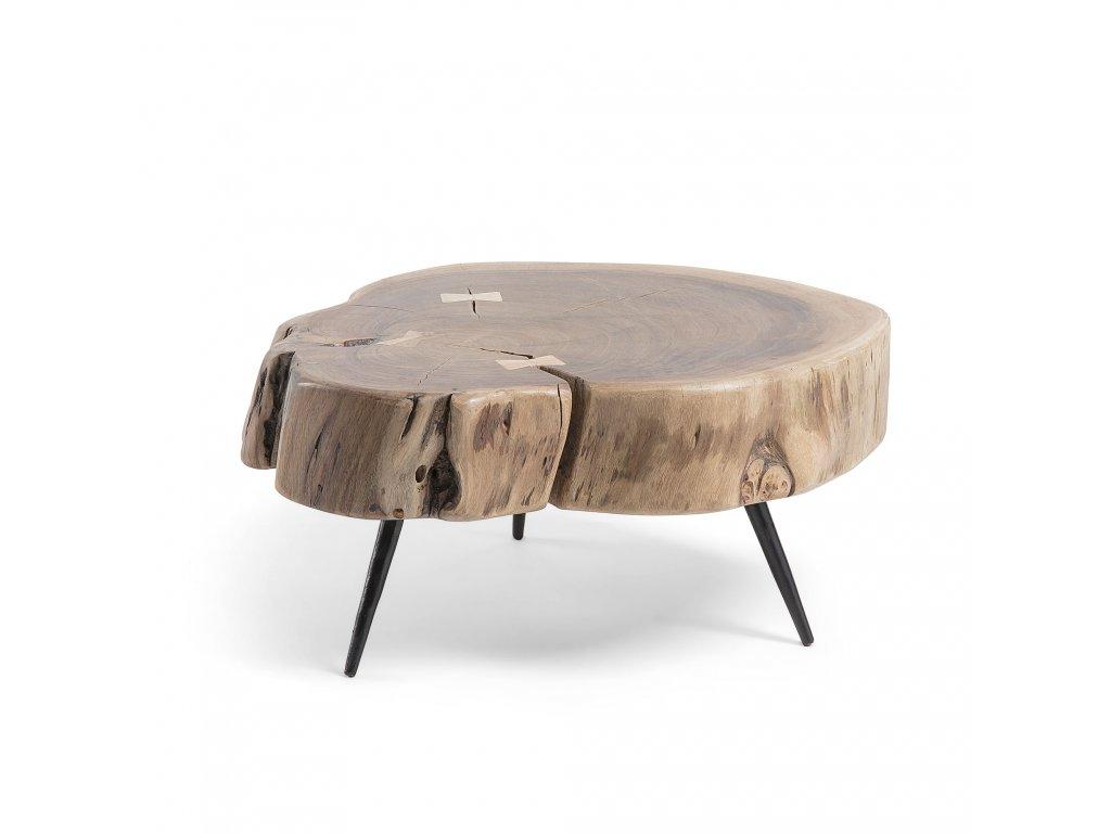 Dřevěný odkládací stolík Rousy