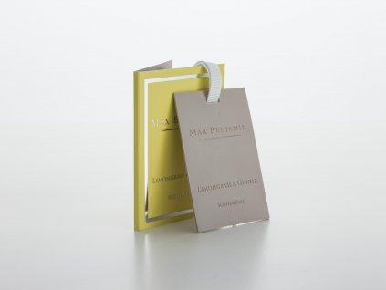 Vonná karta Lemongrass & Ginger
