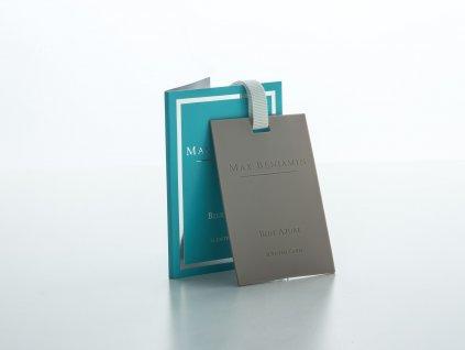 Vonná karta Blue Azure