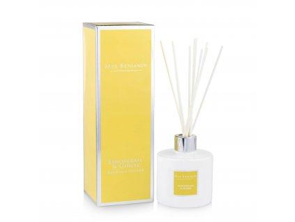 Interiérový parfém Lemongrass & Ginger, 150 ml - difuzér
