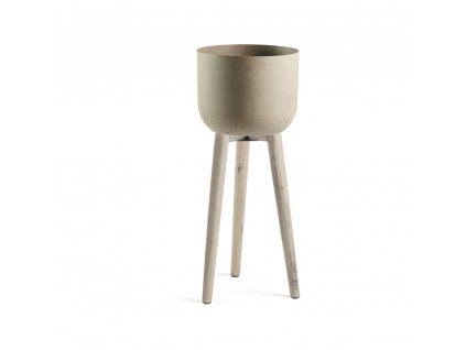 Cementový květináč Stahl