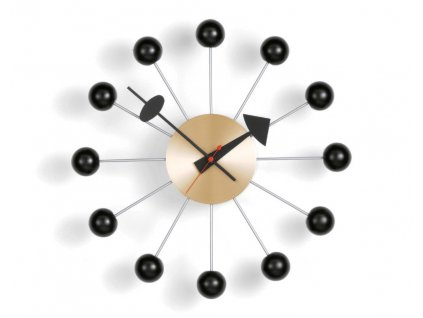 Hodiny Ball Clock, black