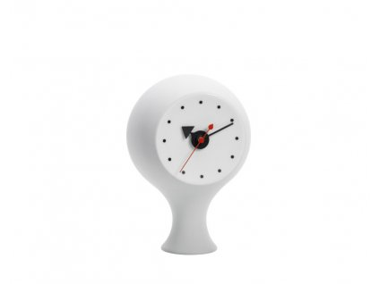 Stolní hodiny Ceramic Clock, light grey