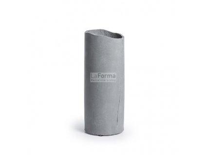 Cementová váza Nidia - tmavě šedá