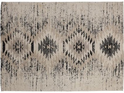 Bavlněný koberec Bel - šedý