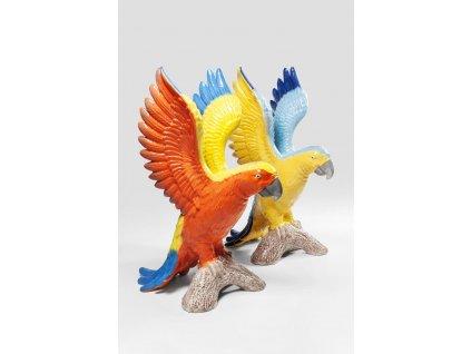 Dekorativní figurka Papoušek Duo - více variant