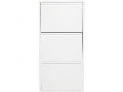 Botník Caruso 3, bílý