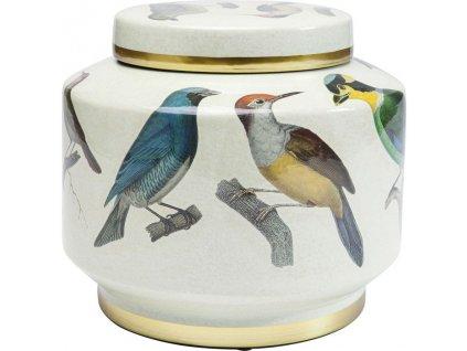 Dekorativní sklenice Birds 20 cm