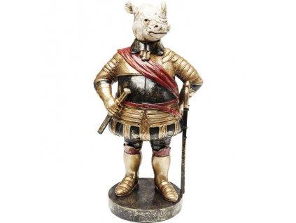 Dekorativní předmět Sir Nosrožec 40 cm